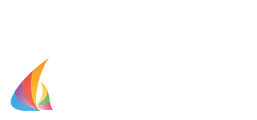 Silicon South Logo with rainbow wave